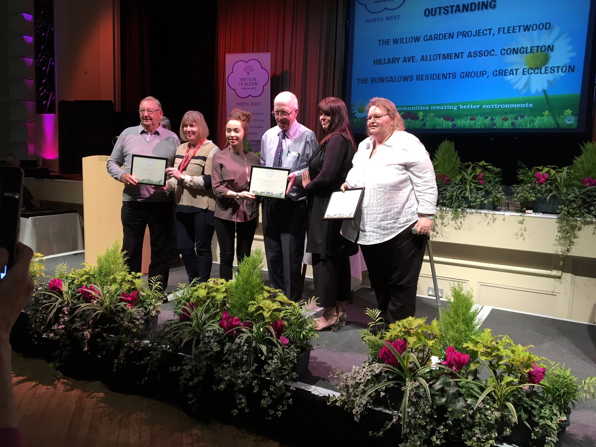 North West In Bloom Award