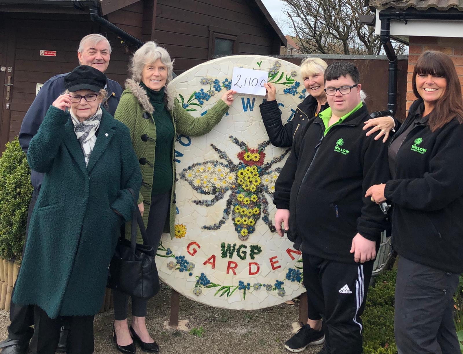 Cala Gran Owners – £2,110 donation for Willow
