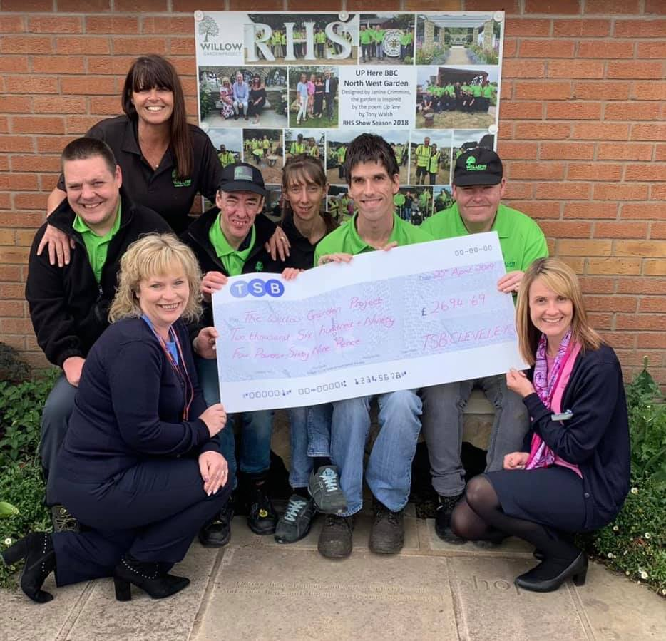 TSB Local Charity Partner – Cleveleys Branch Donation £2,694.69